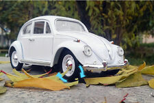 1/18 White Volkswagen Beetle Superior 1967 Diecast Model Car Toy Gift Collection
