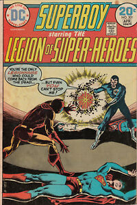 Superboy #201 (Mar-Apr 1974, DC) Comic Book