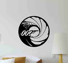 James Bond Wall Decal Agent 007 Logo Movie Vinyl Sticker Cinema Decor Poster 676
