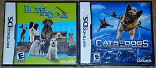 Nintendo DS Lot - Hotel for Dogs (New) Cats & Dogs Kitty Galore (New) NDS