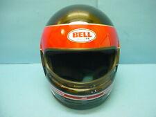 Vintage Bell Racing Full Faced Helmet XL 7-1/2 Made in USA
