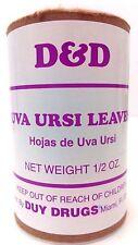 D&D Ursi Leaves (hojas de uva ursi) 1/2 oz