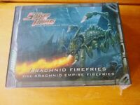 Starship Troopers - Arachnid Firefries - EXTREMELY RARE. New and in Foil!!!