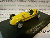 GOR21T Voiture saga GORDINI atlas ELIGOR : GORDINI Type 16 F 1 GP Pau 1954 #8