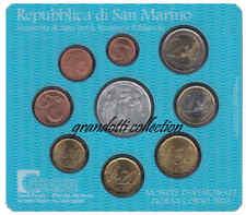 REPUBBLICA SAN MARINO SERIE DIVISIONALE ZECCA 2003 FDC MONETE LIRE