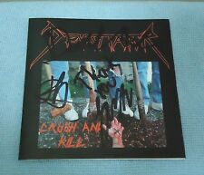 Devastator - Crush and Kill, EP - CD, 2006 Independent Rel. Autographed by Band.