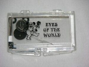 New Grateful Dead SYF Sunglass Eyeglass Side Temple Strap Decoration emblem pair