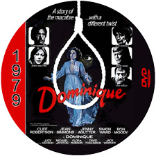 "Dominique is Dead (1979) Sci-Fi and Horror NR CULT ""B"" Movie DVD"