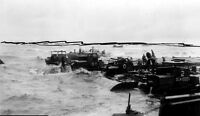 6x4 Gloss Photo ww864 Normandy D-Day Omaha Beach Mulberry Tempete's eabees