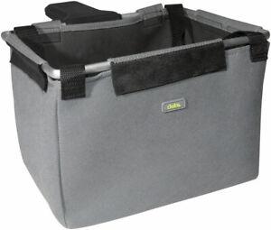 Delta Front Basket/Bag - Gray