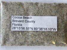 Florida Cocoa Beach Florida Sand Sample