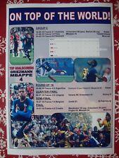 France 2018 World Cup winners - souvenir print
