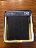 Croft /& Barrow Faux Leather End Full Elastic Silver Buckle Dress Belt SR$28 NEW