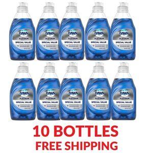 10 Pack Dawn Ultra Dishwashing Soap Liquid Dish Soap Platinum 7 OZ. Best Deal