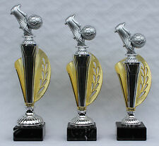 3er-Serie Pokale Fußball Figuren inkl. Gravuren