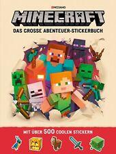 Josef Shanel Minecraft - Das große Abenteuer-Stickerbuch