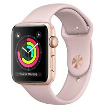 Watch Apple S3 42mm Correa deportiva Rosa arena