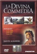 LA DIVINA COMMEDIA. INFERNO. CANTO XIII. XIV. XV - DVD DE AGOSTINI