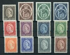 St Vincent 1955-63 set SG189/200 fine  MNH