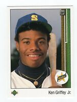 Clint's Multi Sport Mystery Pack Cards for Kids Chase the Ken Griffey Jr RC UD
