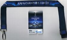 Sammler Ticket VIP-Pass Gazprom Bayer Leverkusen - FC Barcelona UCL 2015/16