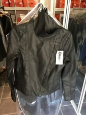 Bench Ladies Faux Leather Jacket ~ BLKD0035 ~ Size XS
