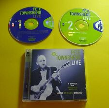 """2 CD """"Pete Townshend-Live-a benifit for Maryville Academy"""" 13 canzoni"""