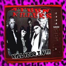 4TEEN KILLERS Kill Your Tv!!! LP . briefs muffs la broma de ssatan rancid punk