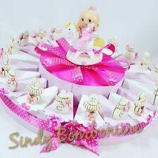 torta bomboniera femminuccia biberon ciuccio portaconfetti per battesimo nascita