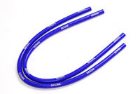 FLETCHER CLASSIC MINI SILICONE HEATER HOSES PIPES 1959-1992 BLUE PAIR Y3266B