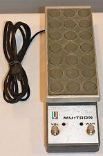 Rare Vintage Musitronics Mu-Tron C200 Volume Wah Pedal Bi Phase Control 1970's