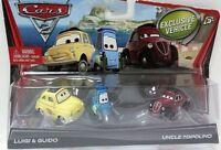 CARS 2 - LUIGI GUIDO & ZIO TOPOLINO - Mattel Disney Pixar