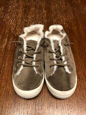 Madden Girl Womens Taupe Bailey -F Women's Shoe Sz 7.5