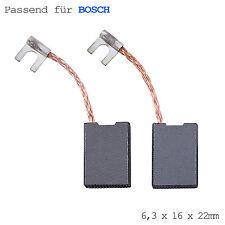 Carboncini motore della spazzola di carbone per Bosch USH 27 USH27 6,3x16x22mm