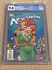 Aquaman 33 CGC 9.6 White Pages (Hot Mera Cover!!) + Batman 'Got Milk' Ad on Back