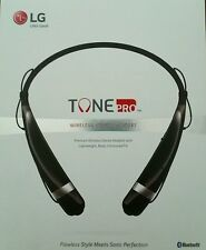 New LG Tone HBS-760 Bluetooth Wireless Headset BLACK
