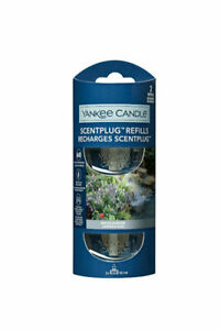 6 x Yankee Candle Scent Plug Twin Pack Fragrance Refills-Water Garden