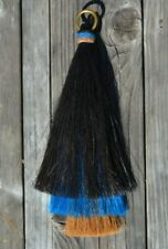 Mane Hair Shu Fly 3 Bell Mule Tail Layered Cut - Black/Turquoise/Chestnut - 12""