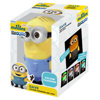OFFICIAL MINIONS ILLUMI-MATES COLOUR CHANGING LED LIGHT KIDS BEDROOM NEW GIFT