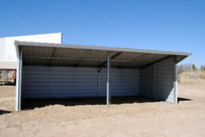 Metal Field Shelter Livestock Shelter Farm Storage Building Horse Stables Block
