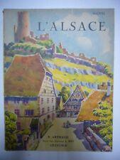 HANSI L'ALSACE 1933 ARTHAUD OUVRAGE ORNE DE 233 HELIOGRAVURES TRES BON ETAT