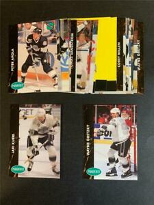 1991/92 Parkhurst French Los Angeles Kings Team Set 26 Cards