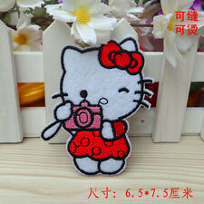 Sew on & iron on  patches(Camera Hello Kitty)