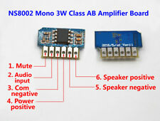 3W DC 3V 3.7V 5V Amp Class AB Mono Mini Amplifier Board Audio Module One channel