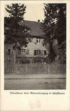 Schaffhausen Schweiz 1926 Goldsteinstraße Pfrundhaus Münsterkreuzgang Wohnhaus