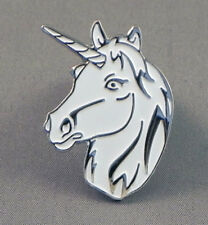 Unicorn Head Pin Badge