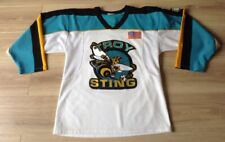 ICE HOCKEY JERSEY TROY STING NO 9 SIZE S SEE DESCRIPTION