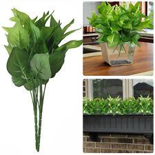 Artificial Mini Leaves Plant Silk Flower Fake Foliage Plants Home Garden On Sale