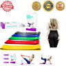 Set Of 5 Resistance Stretching Bands Loop Exercise Legs Workout CrossFit Fitness