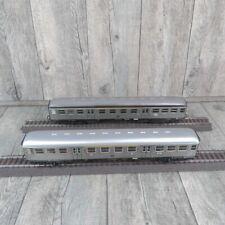 MÄRKLIN 4043 etc. - H0 - 2 DB Personenwagen Silberlinge - #A36074